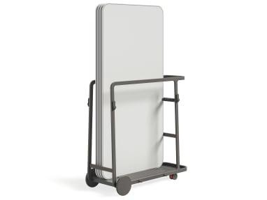 Carrito para pantallas Steelcase Flex