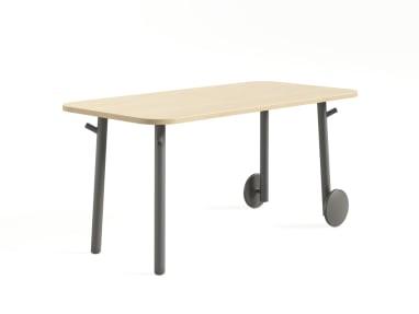 Steelcase Flex Tables on white
