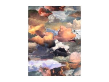 Walking on Clouds Dawn Portrait Moooi Carpets On White