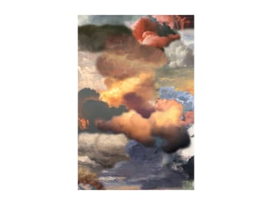 Walking on Clouds Dusk Portrait Moooi Carpets On White