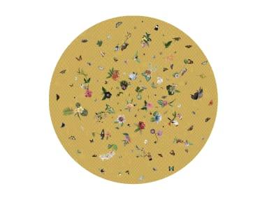 Garden of Eden Yellow Moooi Carpets On White