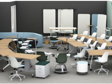 Node chairs