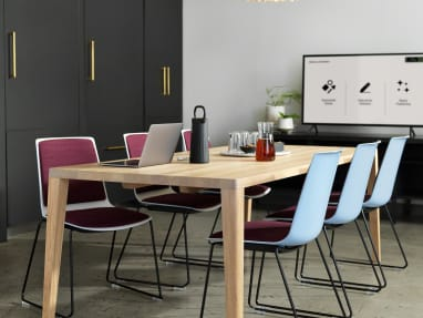 Customer Oasis, Meeting, Bolia Graceful Dining table, Nooi Seating