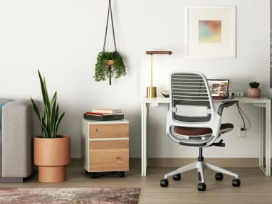 environment image showing Series 1 chair in work from home setting