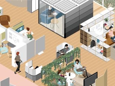 Work Better 360 illustration