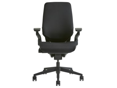 Gesture chair on white background