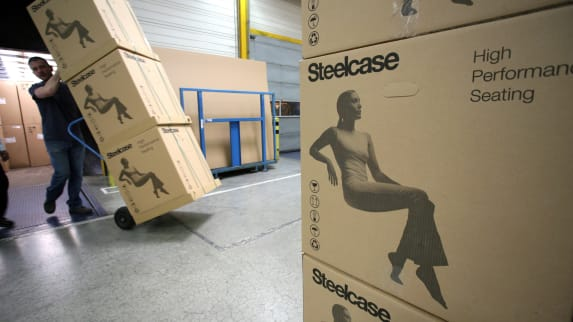 Steelcase plant in Sarrebourg France