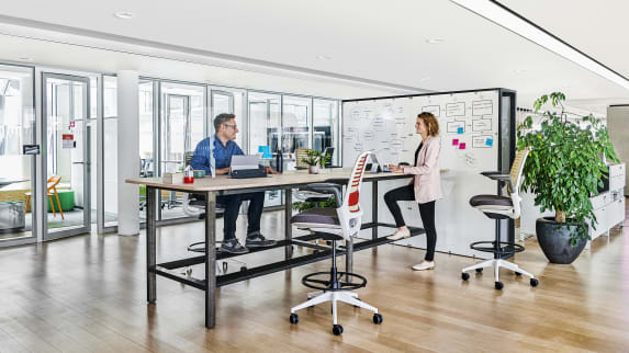 EMEA Back to Office Solutions – Pop-Up Shields Frontal (Polycarbonate)