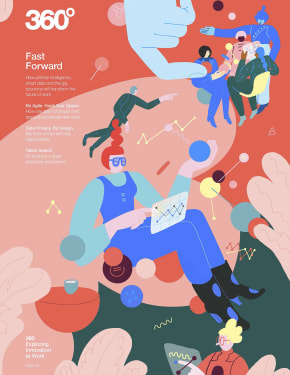 360 Magazine Fast Forward Cover Page