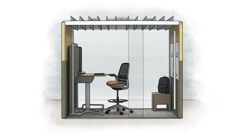 personal workspace enclave