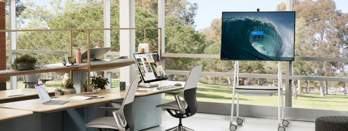 Steelcase and Microsoft have been working together since 2017