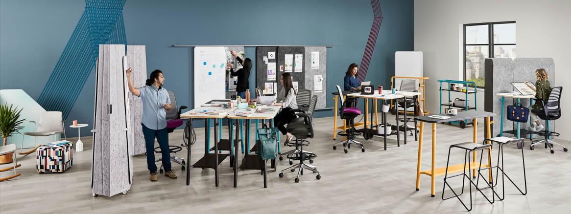 360 magazin die teamkreativität steigern mit steelcase flex