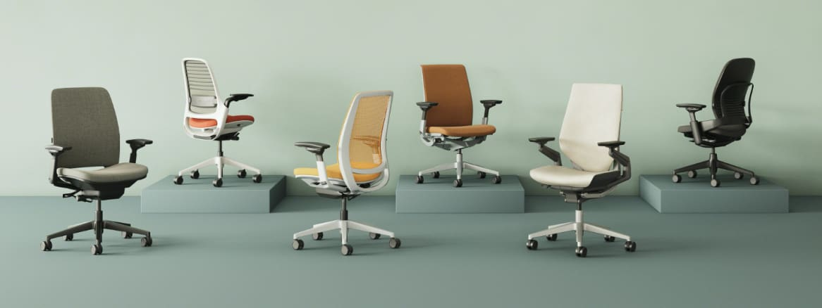 Steelcase office task chairs