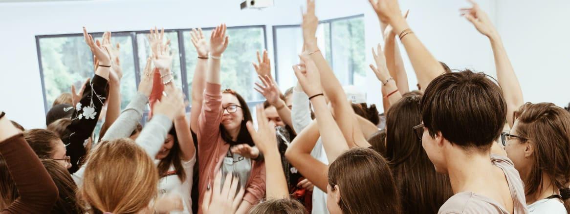 Girls empowered at the Camp Ignite program