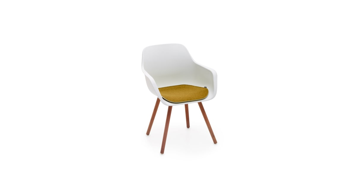 Extremis Captains Wood Chair with Cushion