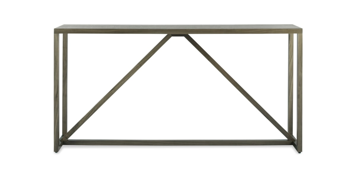 Blu Dot Strut Wood Console Table