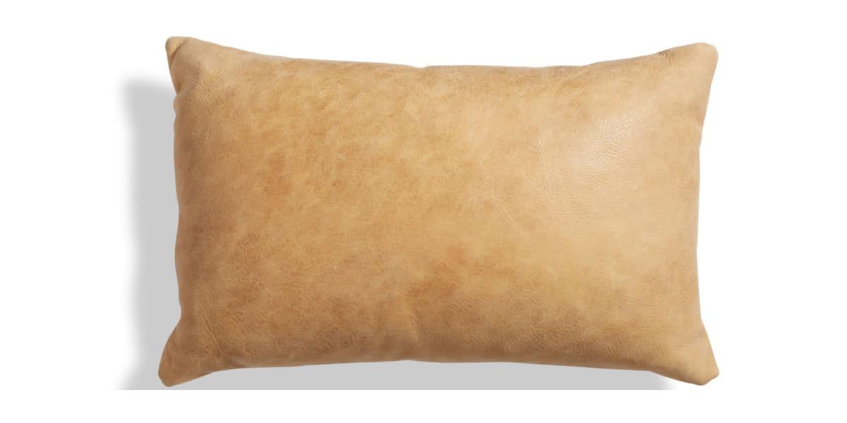 Blu Dot Signal Leather Lumbar Pillow