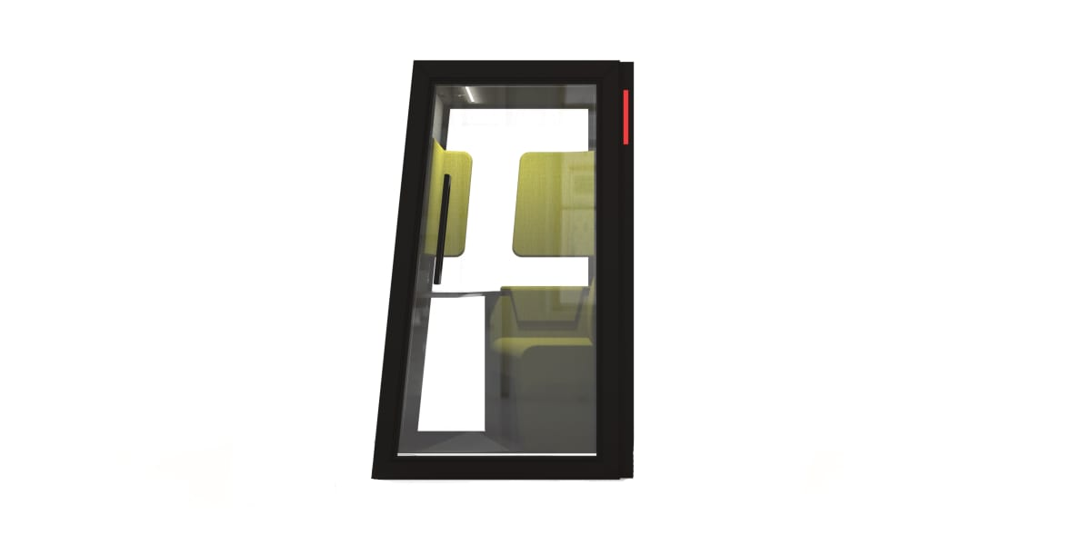 Short Angled Phonebooth