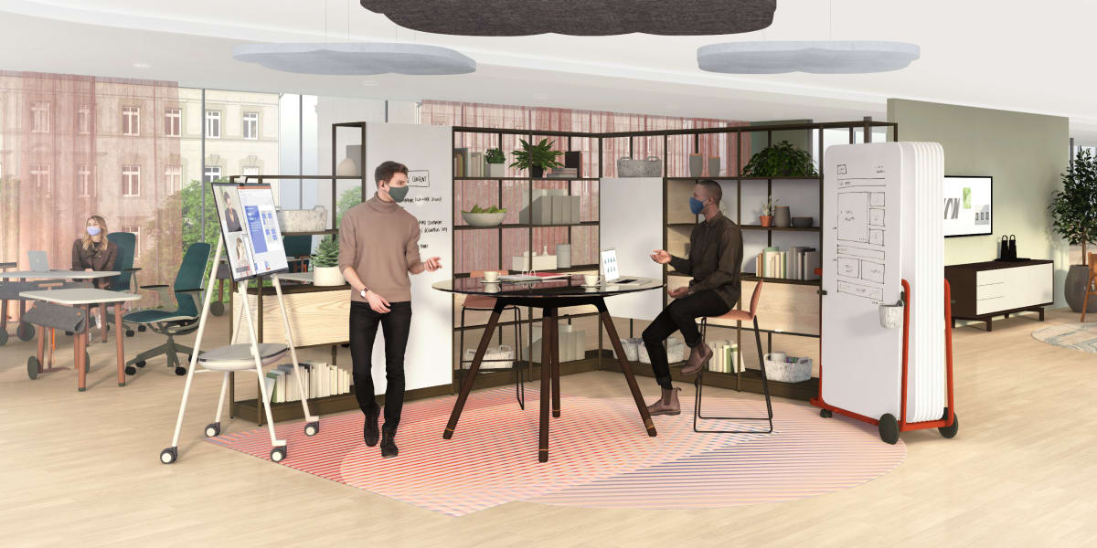 Work Better: Spaces