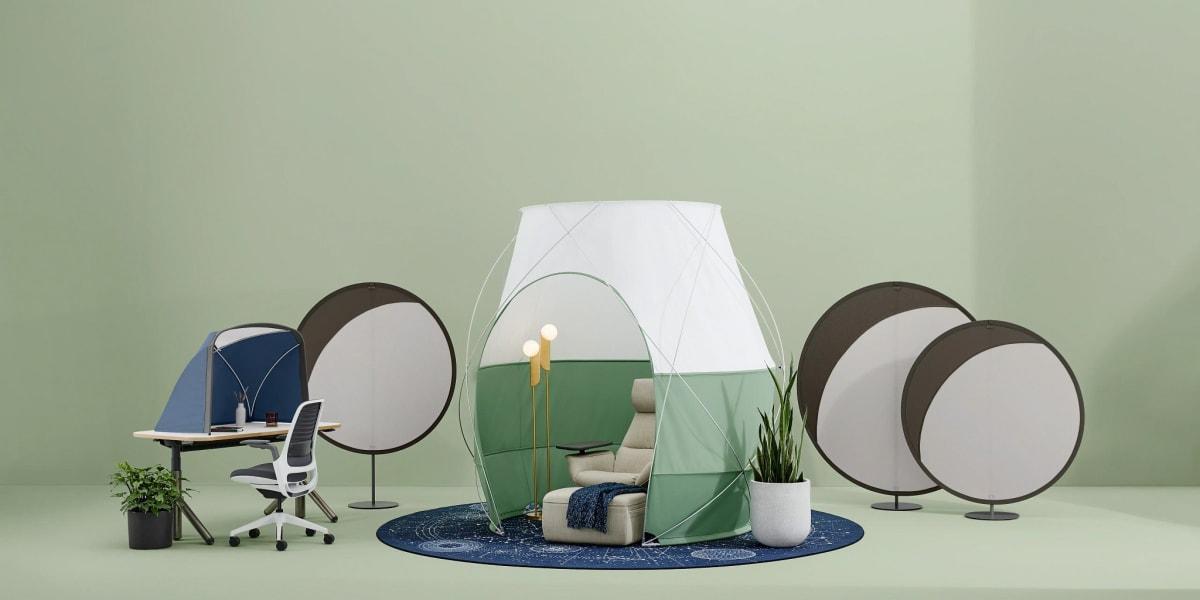Steelcase Work Tents
