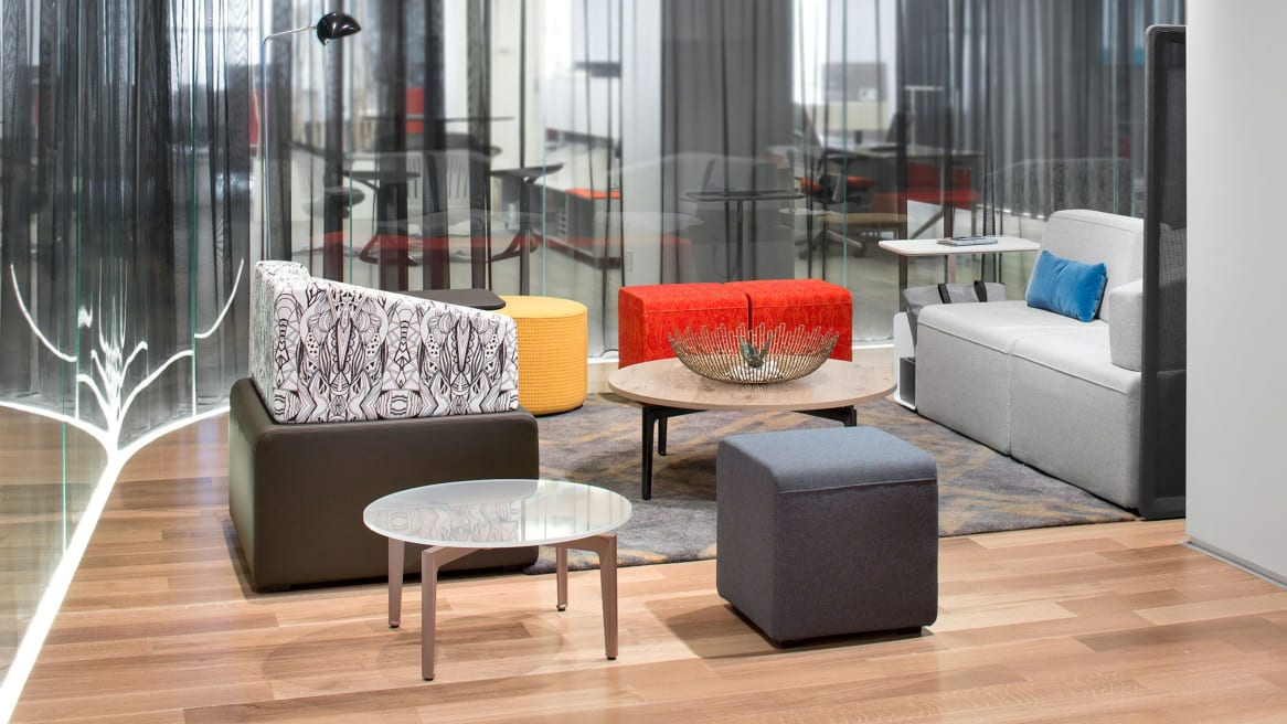 Work Lounge with B-Free collection