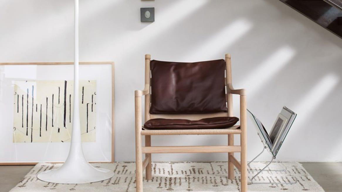 CH44 Ladderback Chair brown