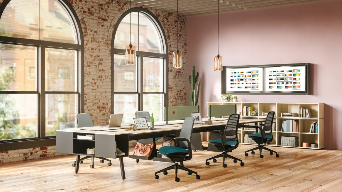 Steelcase Series 1 chairs