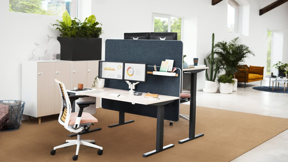 Migration Height-Adjustable Desk Lockers Collection