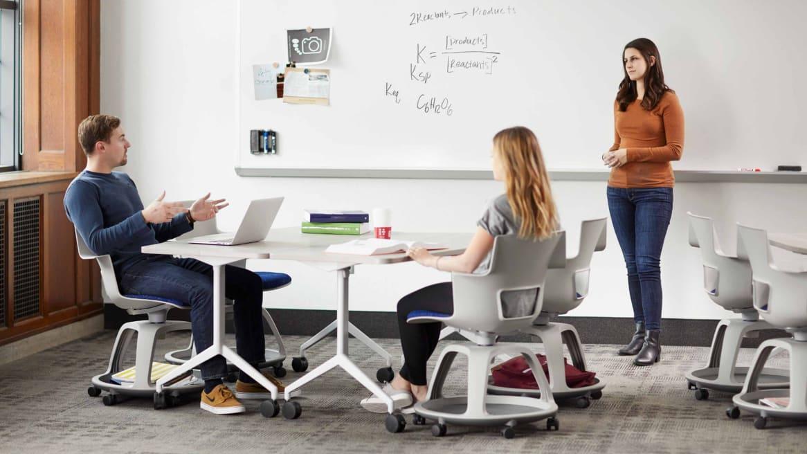 Shortcut education seating