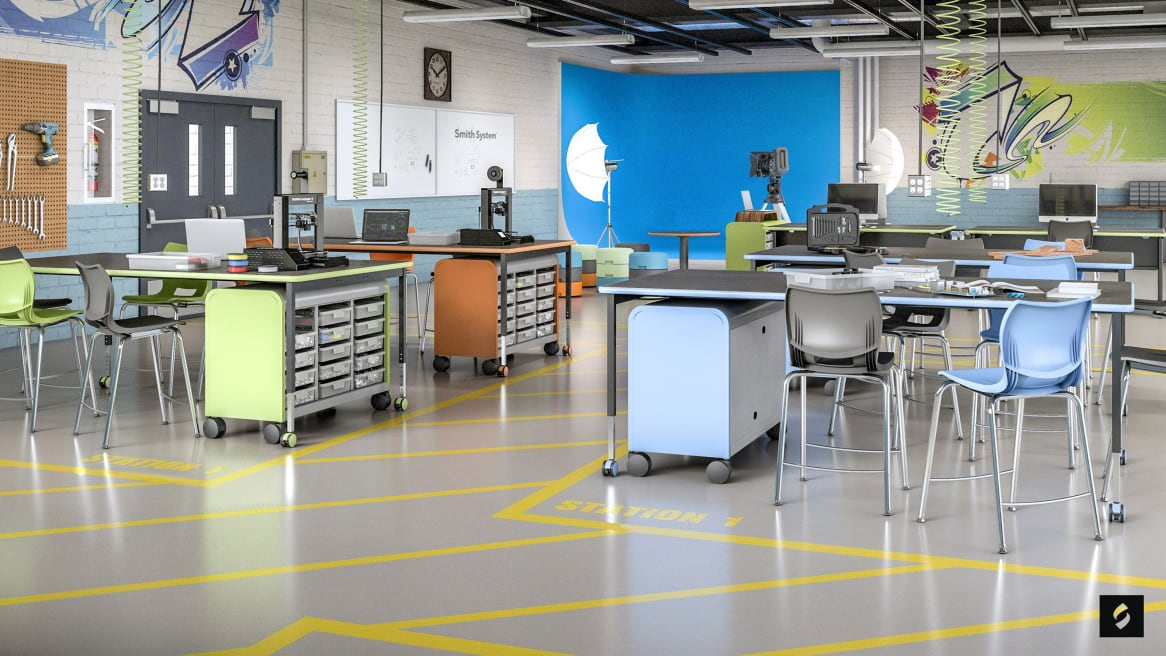 360 Magazine Steelcase to Acquire Education Leader Smith System