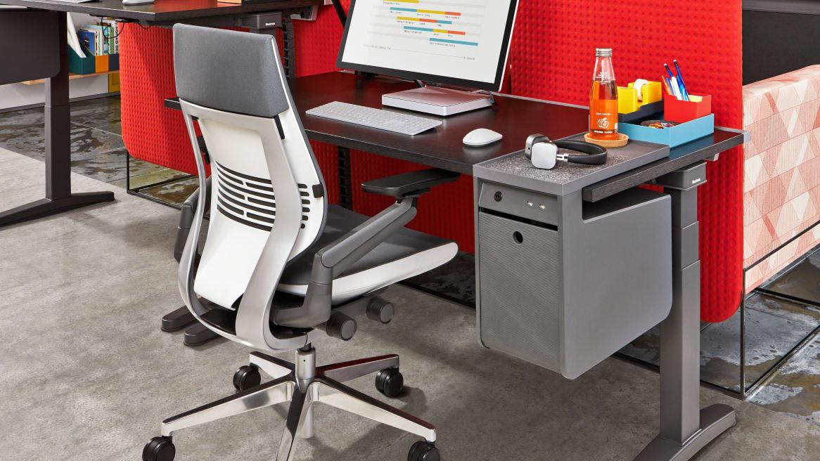 Gesture office chair