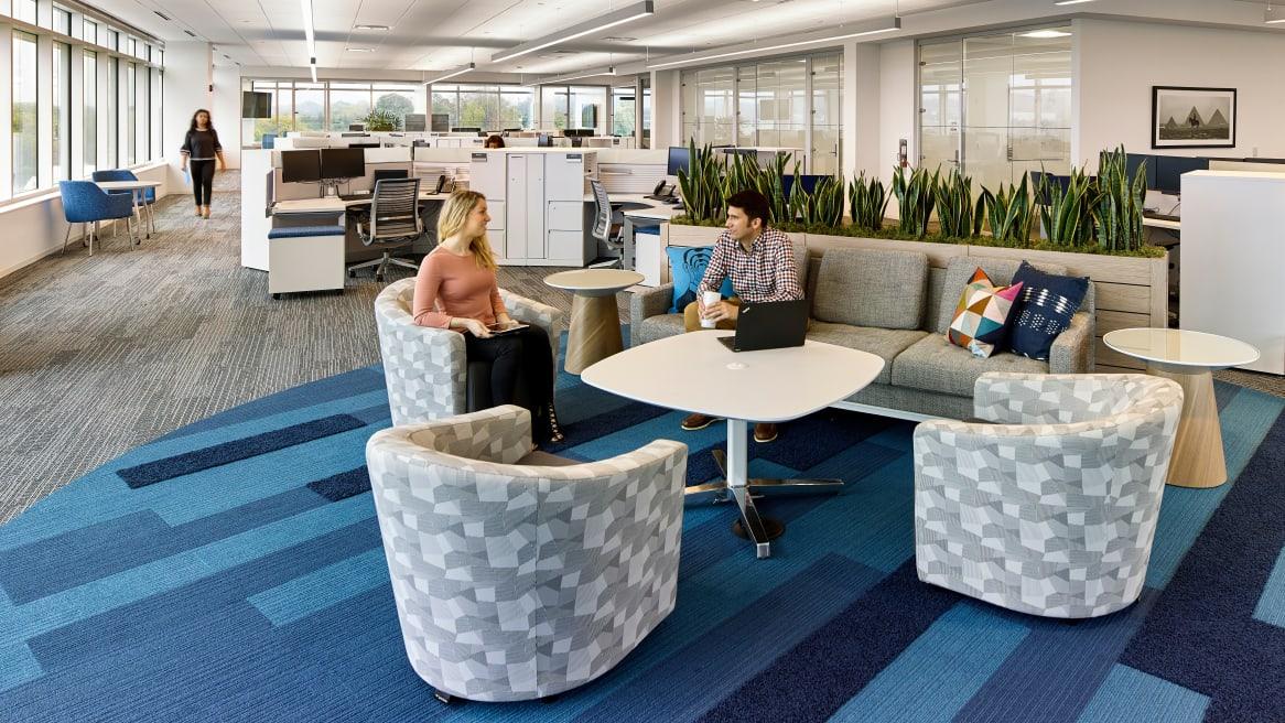 360 magazine headquarters invigorates a company's culture and image