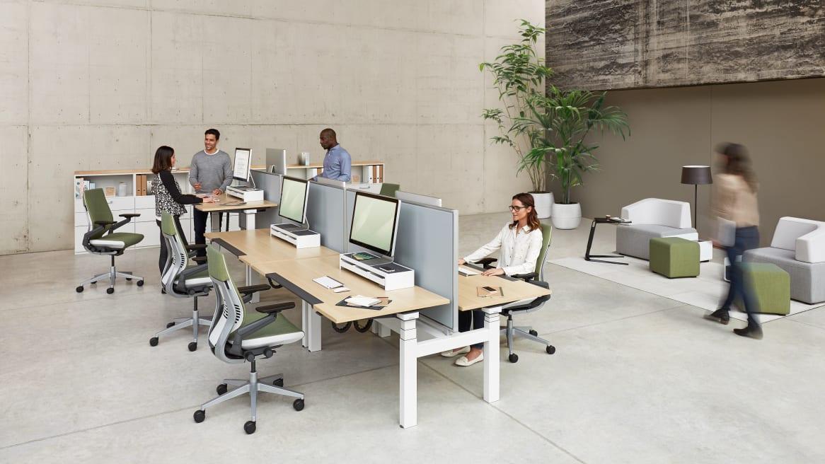 magazine 360 une étude menée sur 12 mois confirme les avantages des bureaux réglables en hauteur