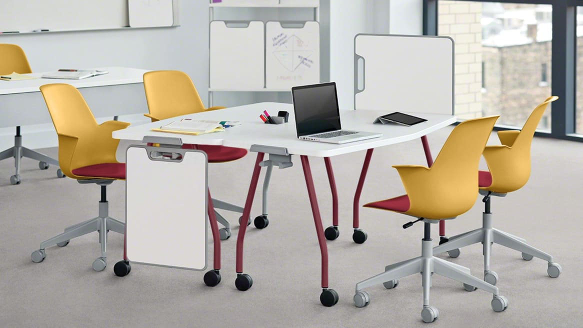 Node chairs and verb tables