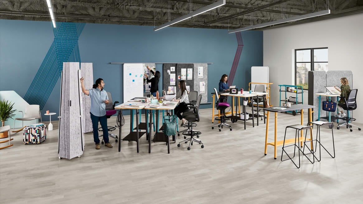 Steelcase Flex Collection setting