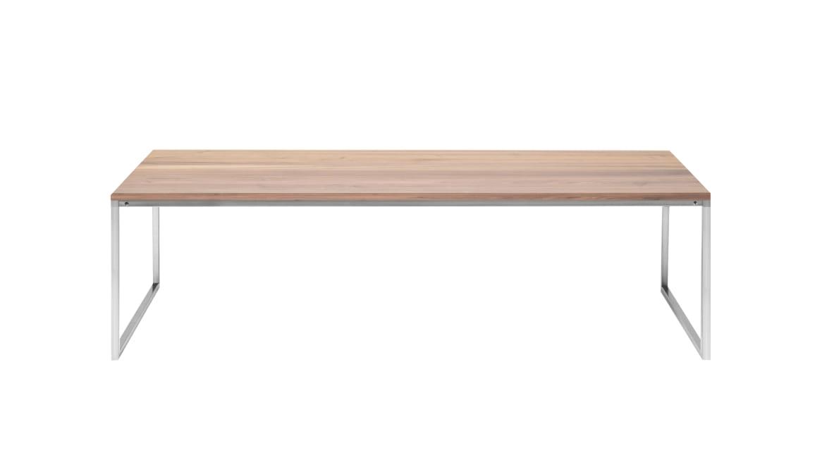 Como 60x120 Low Table On White