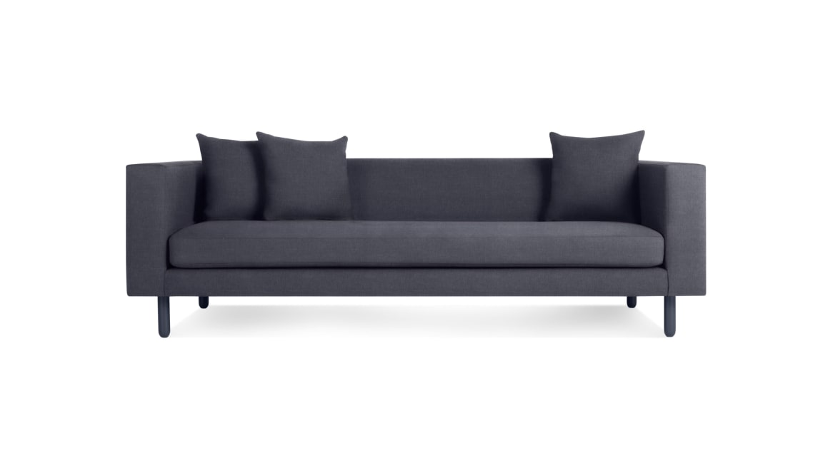 Blu dot Mono Sofa On White