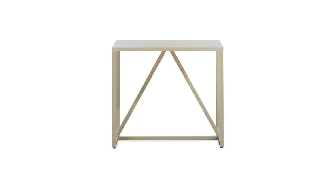 Blu Dot Strut Side Table On White