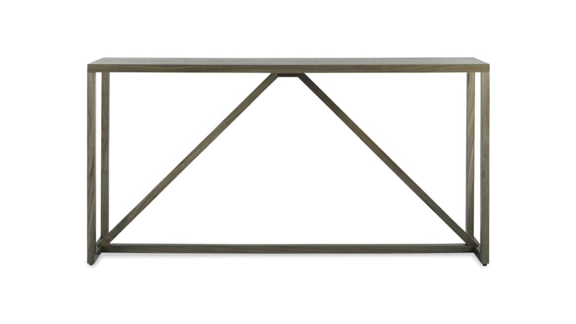 Blu Dot Strut Wood Console Table On White