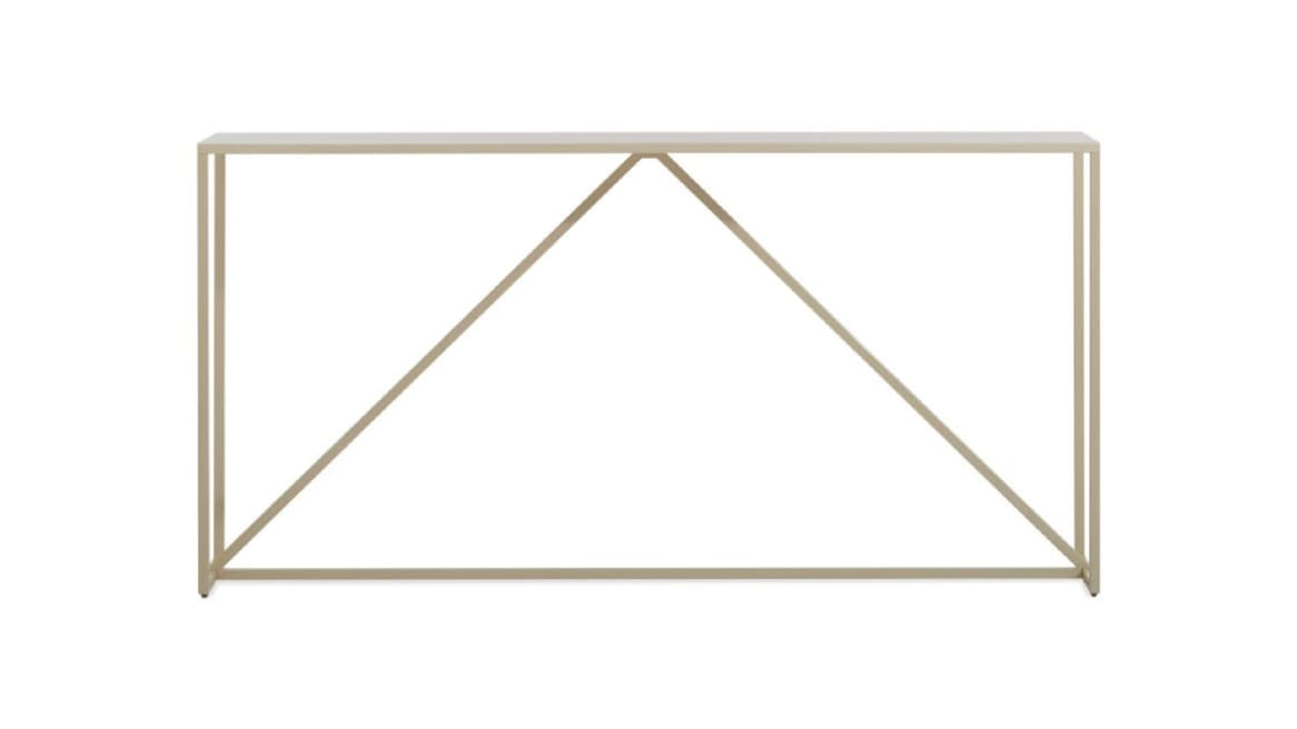 Blu Dot Strut Console Table On White
