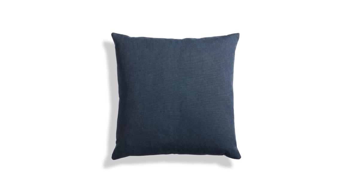 Blu Dot Signal Canvas Square Pillow On White