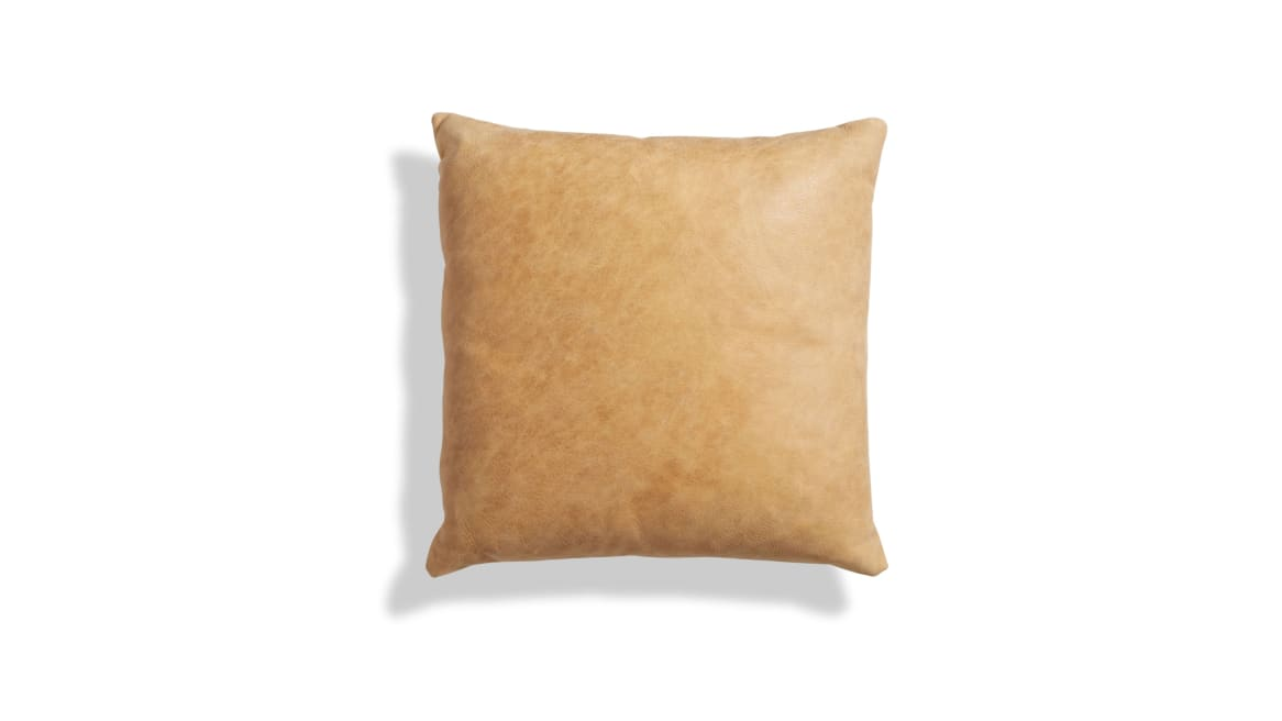 Blu Dot Signal 20in Square Pillow On White