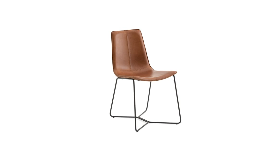 West Elm Work Slope Chair On White