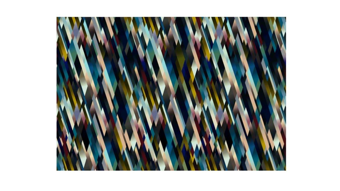 Diagonal Gradient Dark Moooi Carpets On White