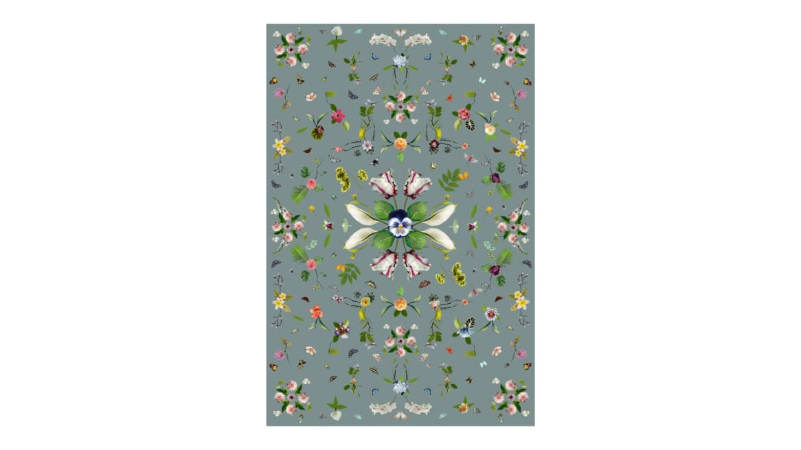 Garden of Eden Grey Moooi Carpets On White
