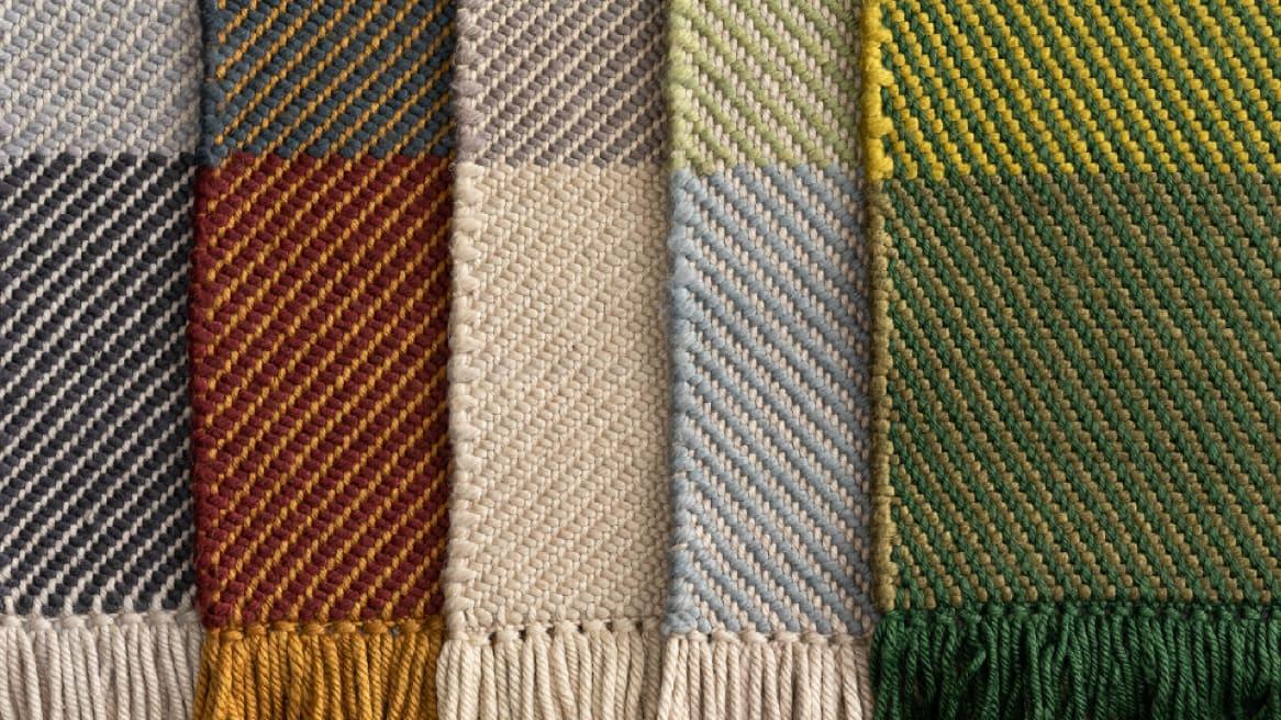 Coalesse Nanimarquina Diagonal Rug Multiple Colors