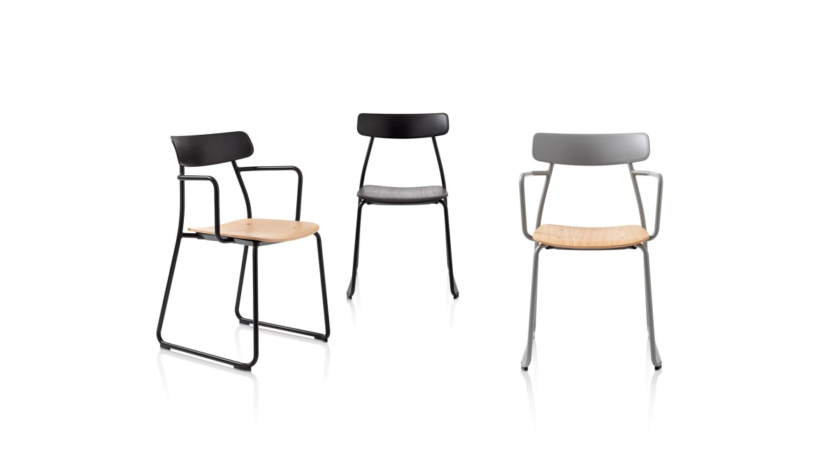 Orangebox Acorn Chair On White