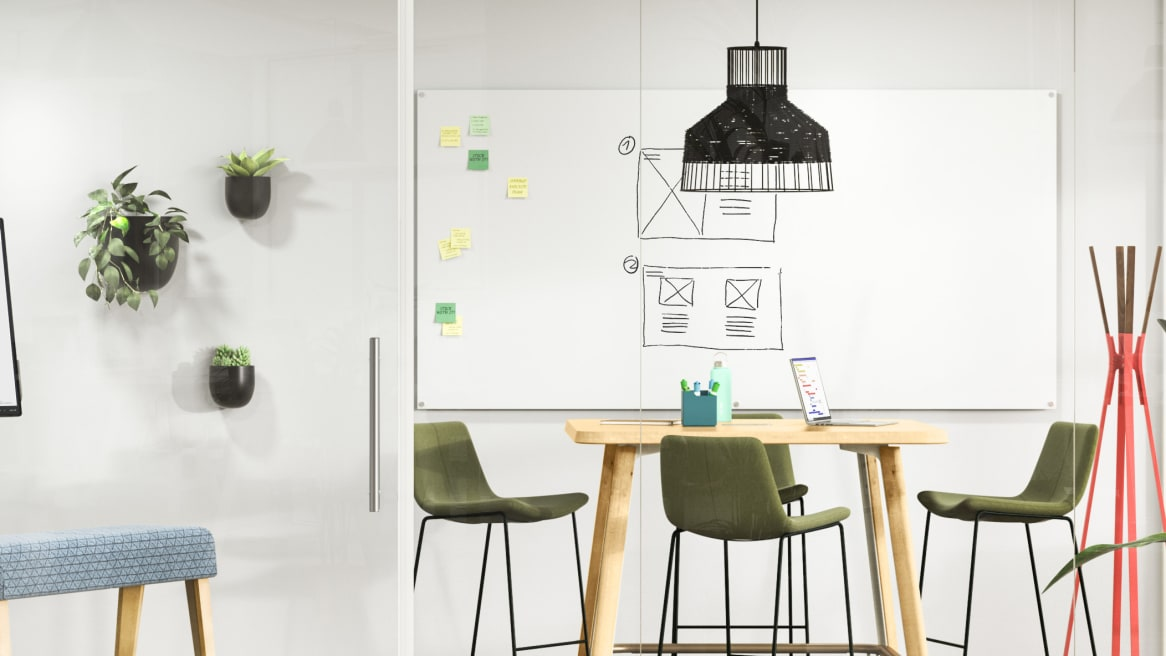 Meeting Zone, Interactive, PolyVision Serif, B-Free Beam