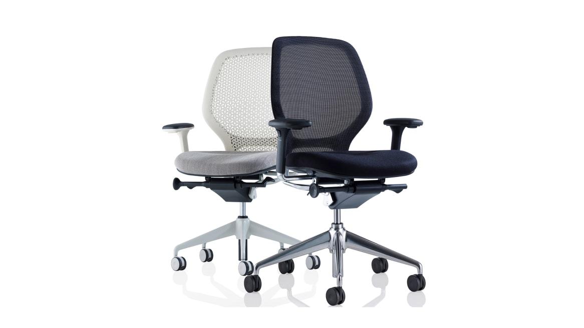 Ara Orangebox Office Chairs On White