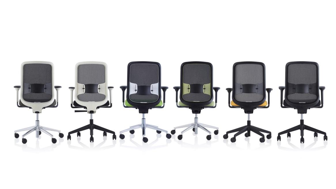 Do Orangebox Office Chair On White